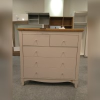 Lemari laci drawer serba guna susun 4 light grey