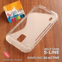Soft Jelly Case Samsung S5 Active Softcase Silikon Silicon C