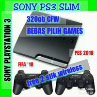 Sony Playstation3 320gb CFW + 2 Stik wireless Bebas Pilih Games