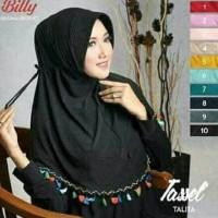 [PROMO HIJAB] Hijab jilbab pet serut bergo rabbani tassel murah