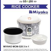 LIMITED Miyako Rice Cooker Magic Com MCM 528 miyako Magic Warmer Plus