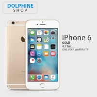 APPLE IPHONE 6 GOLD 16GB GSM GARANSI 1 TAHUN hp handphone murah