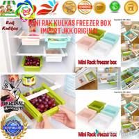 Mini Rak Kulkas Freezer BoX Import JKK Original Beli 1 Dapet 2