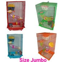 Kandang Hamster KKO Large Merah