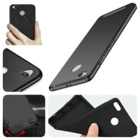 SLIM BLACK MATTE CASE SILICON UNTUK HP SAMSUNG XIAOMI OPPO VIVO IPHONE
