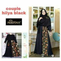 Dress Gamis Couple Ibu dan Anak Hilya Balotelli Mix Batik Prada