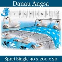 Tommony Sprei Single 90 x 200 - Danau Angsa