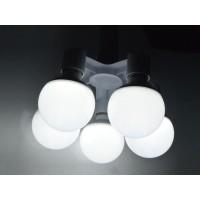Fitting E27 Cabang 5 Lampu Bohlam Studio - White