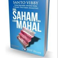 Buku Jual Saham Anda Lebih Mahal !!! Santo Vibby . Best Seller!