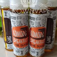Jual Komodo Breakfast Pink Beach 6mg - Local Premium Liquid Murah