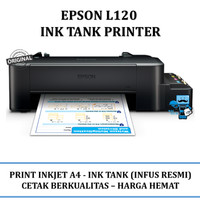 Printer Epson L120 Refillable Original Ink Tank - Kami Dealer Resmi