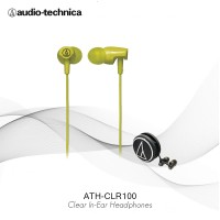 Audio Technica ATH-CLR100 Clear In-Ear - Lime Green