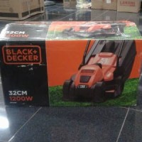 Mesin Potong Rumput Dorong Elektrik BLACK & DECKER 32CM Paling Laris