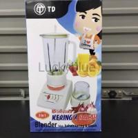 BLENDER , JUICER 3 IN 1 TWINDOG BERKUALITAS, BERGARANSI Limited