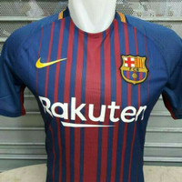 JERSEY BARCELONA HOME 2017/2018 GRADE ORI OFFICIAL