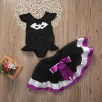 Pakaian Bayi Perempuan Baju & Sepatu Setelan Romper Baby Motif AHA1702
