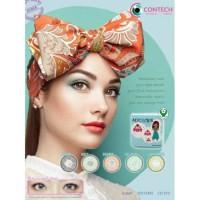 SOFTLENS Newbluk + Softcase soft lens New Bluk Big eyes kontak lensa
