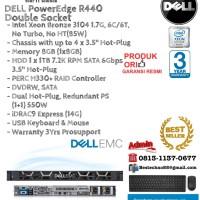 DELL Server R440 Intel Xeon Bronze 3104 Double Socket RackmountSeries