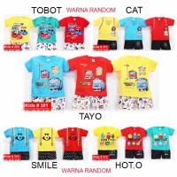 JUAL Baju Anak Pakaian Bayi karakter lucu Uk 012 6 sampai 18 Bulan