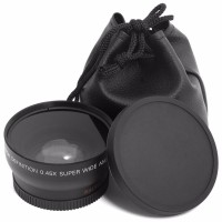 MURAH LF036 Lensa wide 45x Super Wide Angle Lens 52mm for Nikon D5100