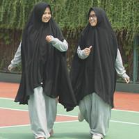 Khimar Siera Hitam by Alila Hijabku