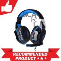 Harga promosi kotion each g2000 gaming headset super bass with led   Hargalu.com