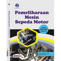 Buku Pemeliharaan Mesin Sepeda Motor kelas XI