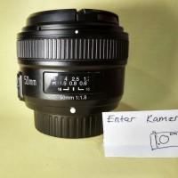 Lensa Yongnuo 50mm Lensa bokeh for Nikon f1.8 autofocus