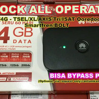 Modem MiFi Huawei E5573 (Best Seller) 4G LTE XL, TELKOMSEL, INDOSAT