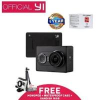 KAMERA Xiaomi Yi Action Camera 16MP Go Pro Yi Cam Set BLACK