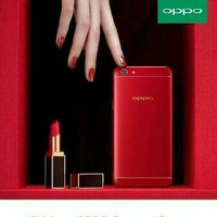 HP OPPO F5 ( F 5 RAM 6/62 GB) RED/MERAH LIMITED EDITION GARANSI RESMI