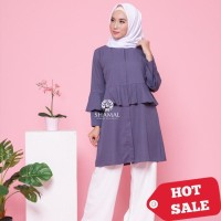 Baju Dress Wanita Muslim - Afifah Tunik