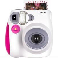 Fujifilm Instax Mini 7S Blue & Pink + Refill Instax Polos 20 Lembar