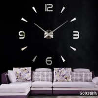 G001 JAM DINDING DIY WALL CLOCK NUMBER STYLE