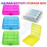 Kotak Penyimpan Baterai AA AAA Battery Storage Box Batere Case 14500