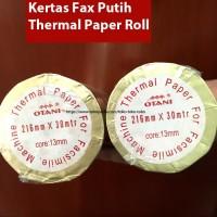 Kertas Fax Thermal / Fax Thermal Paper 216x30