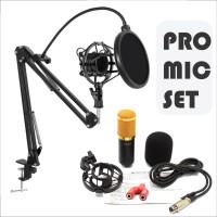 Mic/mikrofon Profesional set Youtuber/singer Laptop/Smartphone/pc