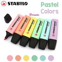 Stabilo Boss Highlighter Pastel Colors Stabillo Original Color Satuan
