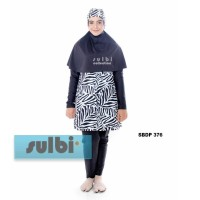 Baju Renang Wanita Muslimah JUMBO 5L (XXXXL) Dewasa Sulbi-SBDP-376