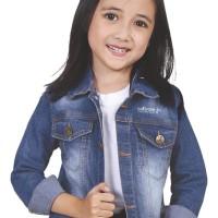 Jaket Levis Jeans Denim Anak Perempuan Umur 5 6 7 8 9 10 tahun CNU 134
