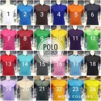 Kaos Polo Shirt Polos XXXL / Kaos Kerah / Kaos Polo
