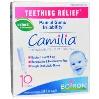 Boiron Camilia Teething Relief 10 Doses, .034 fl oz Each