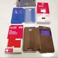 Case Flip Andromax A Leather Sarung HP Smartfren