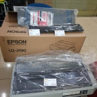 Printer Epson LQ 2190 fullset dus garansi 1 tahun service and part
