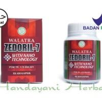 Obat Kanker Getah Bening Herbal BPOM - Walatra Zedoril 7 Original