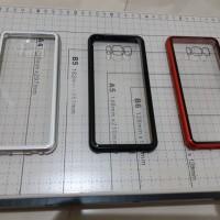 Samsung galaxy S8 Premium 2 in 1 magnetic phone case -Transparant