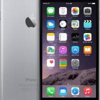 IPHONE 6 PLUS 128GB GREY / GRAY GARANSI DISTRIBUTOR 1 TAHUN ORI N NEW<
