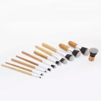LR386 Makeup brush 11 pcs set BAMBOO make up brush set 11 pcs kuas