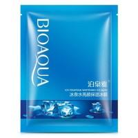 Bioaqua Bio Aqua Ice Fountain Whitening Sheet Mask Masker 10 Sachet