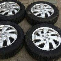 Velg dan ban Oem Original honda All new mobilio type E cvt